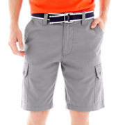 U.S. Polo Assn.® Belted Twill Cargo Shorts