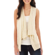 Arizona Sleeveless Flyaway Cardigan