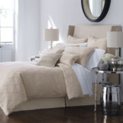 Liz Claiborne® Cream Bliss 4-pc. Jacquard Comforter Set & Accessories