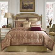 Croscill Classics® Florencia 4-pc. Jacquard Damask Comforter Set & Accessories