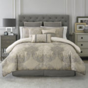 Croscill Classics® Easton 4-pc. Jacquard Floral Comforter Set