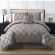 Santiago 4-pc. Velvet Comforter Set