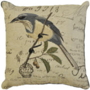 Idea Nuova Birdcage Linen Decorative Pillow
