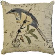 Idea Nuova Birdcage Linen Decorative Pillow
