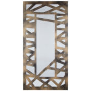 Criss-Cross Wall Mirror