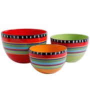 Simplemente Delicioso Pueblo Springs 3-pc. Bowl Set
