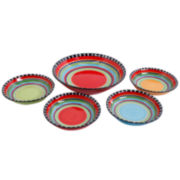 Simplemente Delicioso Pueblo Springs 5-pc. Serving Bowl Set