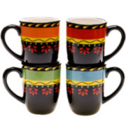 Mi Casa Set of 4 Mugs