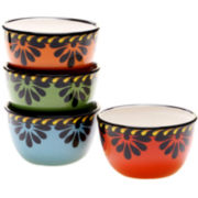 Mi Casa Set of 4 Ice Cream Bowls
