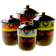 Mi Casa 4-pc. Canister Set