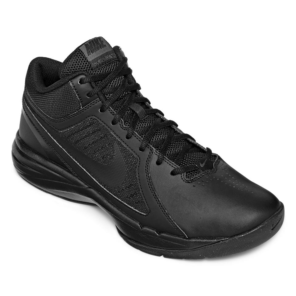 online store 5cacf 349b2 Nike Overplay VIII Mens Basketball Shoes, Black