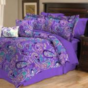 Bethenny Paisley Reversible Comforter Set