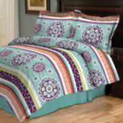Henna Medallion Comforter Set