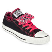 Converse Chuck Taylor Womens Double-Tongue Sneakers
