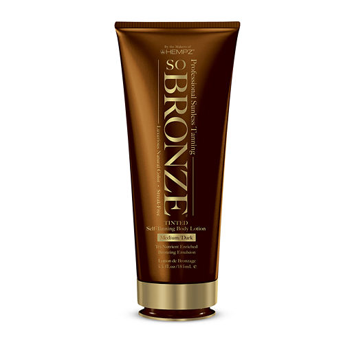Hempz® SoBronze Sunless Medium-To-Dark Body Lotion - 5.5 oz.