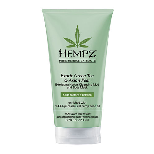 Hempz® Exotic Green Tea & Asian Pear Herbal Body Mask & Cleanser - 6.76 oz.