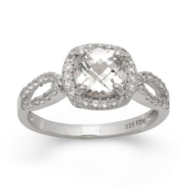 jcpenney.com | Lab Created White Sapphire Sterling Silver Ring