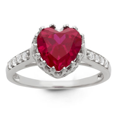 jcpenney.com | Lab Created Ruby Sterling Silver Ring