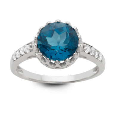 jcpenney.com | Genuine London Blue Topaz Sterling Silver Ring