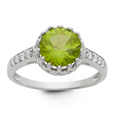 jcpenney.com | Genuine Peridot Sterling Silver Ring