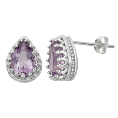 jcpenney.com | Genuine Amethyst Sterling Silver Earrings