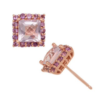 jcpenney.com | Genuine Amethyst 14K Gold Over Silver Earrings