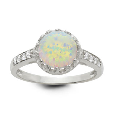 jcpenney.com | Simulated Opal Sterling Silver Ring