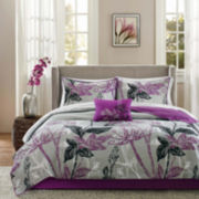Madison Park Nicolette Complete Coverlet and Bedding Set