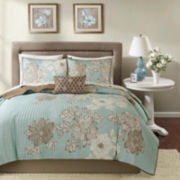 Madison Park Brady Coverlet Bedding Ensemble