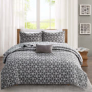 Madison Park Pure Andrea 4-pc. Reversible Coverlet Set