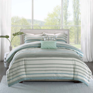 jcpenney.com | Madison Park Pure Burke 5-pc. Duvet Set