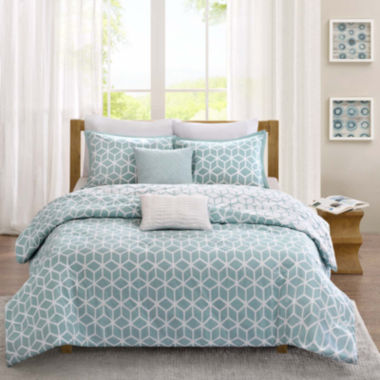 jcpenney.com | Madison Park Pure Camilla 5-pc. Reversible Comforter Set
