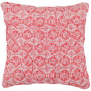 MaryJane's Home Garden View Square Decorative Pillow