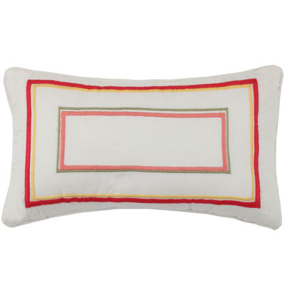 MaryJane's Home Garden View Oblong Decorative Pillow
