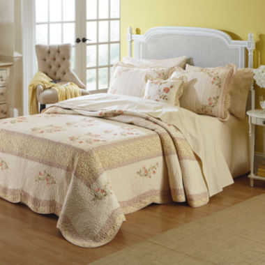 jcpenney.com | MaryJane's Home Morning Rose Bedspread & Accessories