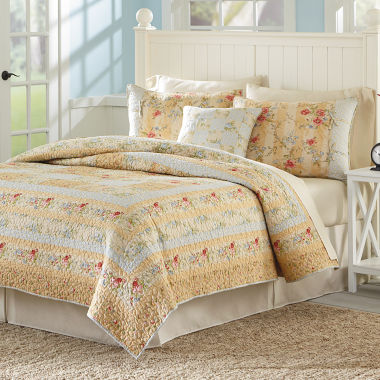 jcpenney.com | MaryJane's Home Summer Harvest Quilt & Accessories