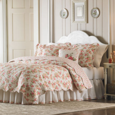 jcpenney.com | MaryJane's Home Sweet Roses Quilt & Accessories