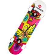 """PUNISHER® Skateboards Butterfly Jive 31"""" Skateboard"""