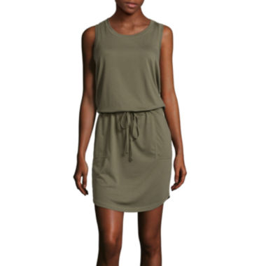 jcpenney.com | Xersion™ Studio Tie Waist Dress