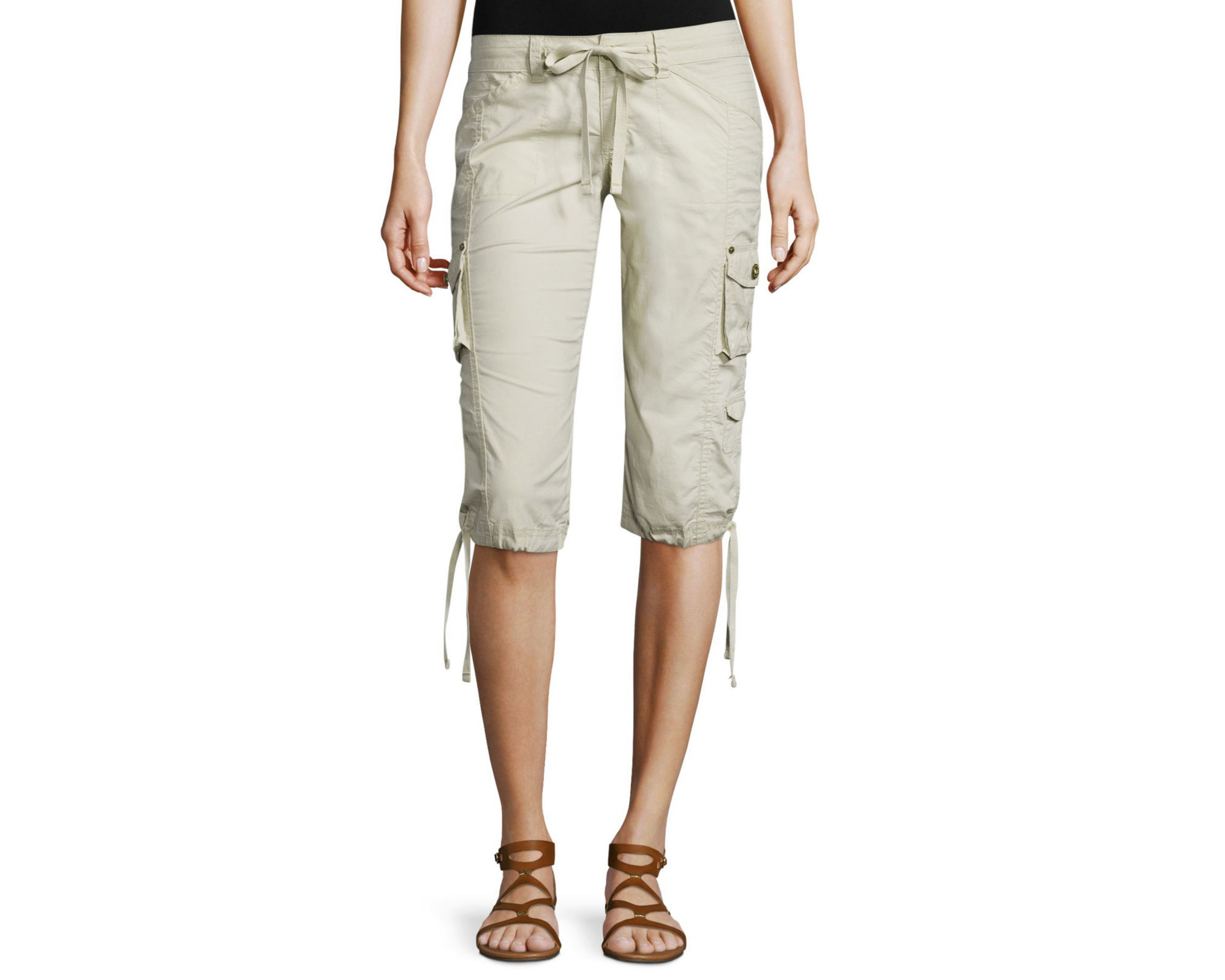 Amazing Liz Claiborne Cargo Cropped Pants Petite For Women  Tommp