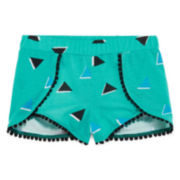 Okie Dokie® Wrap Shorts - Preschool Girls 4-6x