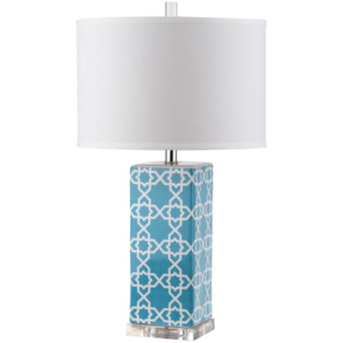 jcpenney.com | Safavieh Isolde Quatrefoil Table Lamp