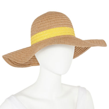 jcpenney.com | Mixit™ Colored Band Floppy Hat