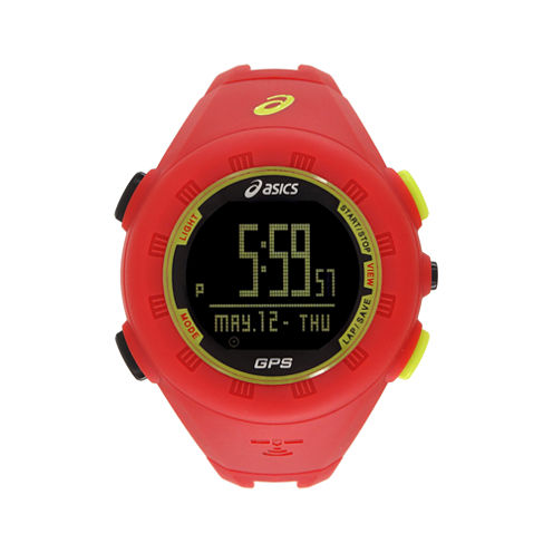 Asics AG01 GPS Training Red Watch-CQAG0104Y