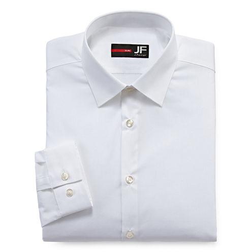 JF J. Ferrar® Cotton Stretch Dress Shirt - Slim Fit