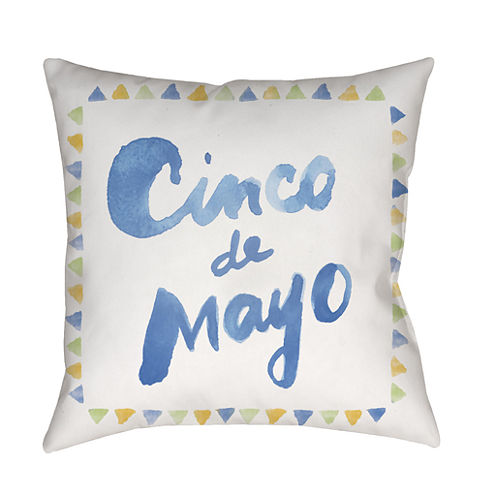 Decor 140 Celebracion Square Throw Pillow