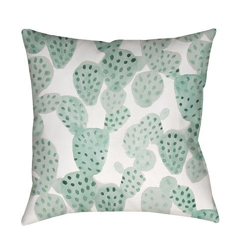 Decor 140 Opuntia Ii Square Throw Pillow