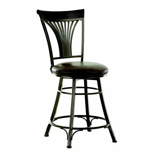 Harold Counter Height Upholstered Bar Stool