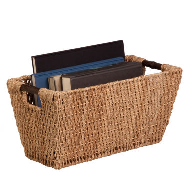 jcpenney.com | Honey-Can-Do® Large Seagrass Basket with Handles