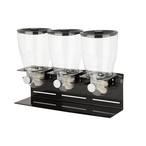 Honey-Can-Do® Commercial Plus Triple Canister Dispenser